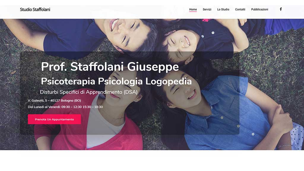 Home Page Studio Staffolani