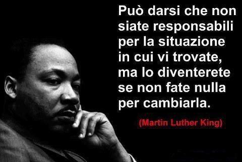 Martin Luther King frase sulla crisi dell'uomo
