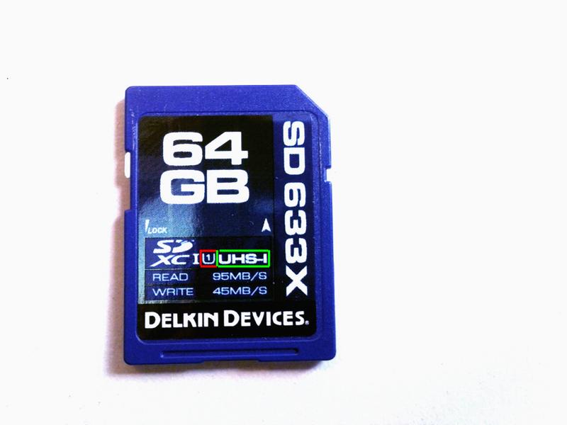 Scheda SD per macchine digitali reflex ad alte prestazioni