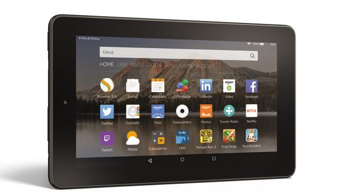 amazon tablet fire