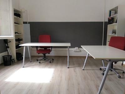 scrivanie coworking - cubetech bologna
